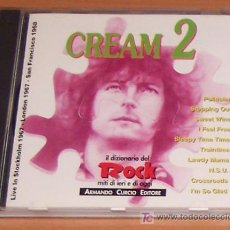 CDs de Música: CD: CREAM: LIVE IN STOCKHOLM 1967 - LONDON 1967 - SAN FRANCISCO 1968. Lote 6724151