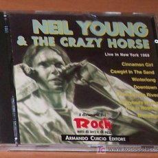 CDs de Música: CD: NEIL YOUNG & THE CRAZY HORSE: LIVE IN NEW YORK 1969. Lote 6724247