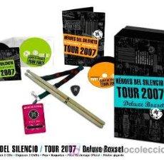 CDs de Música: HEROES DEL SILENCIO CAJA TOUR 2007 ED.LIMITADA DE LUJO PACK ESPECIAL DESCATALOGADO !!. Lote 206908932