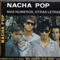 CDs de Música: CD NACHA POP - MAS NUMEROS, OTRAS LETRAS . Lote 34458982