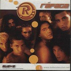CDs de Música: RÁFAGA / SUAVE (CD SINGLE 2002). Lote 7030358