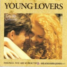 CDs de Música: CD YOUNG LOVERS: FEELINGS - YOU ARE SO BEAUTIFUL - ME AND MRS. JONES Y MUCHOS MÁS.... Lote 27249290
