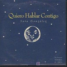CDs de Música: SARA GONZÁLEZ / QUIERO HABLAR CONTIGO (CD SINGLE 1998). Lote 7159206
