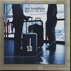 CDs de Música: SIN BANDERA / MIENTES TAN BIEN (CD SINGLE 2004). Lote 31078865