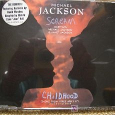 CDs de Música: MICHAEL JACKSON MAXI CD SINGLE `SCREAM´ DUET WITH JANET JACKSON. NUEVO. Lote 27297690