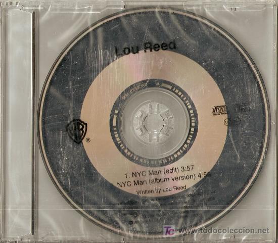 LOU REED -NYC MAN CD.EN RARE PROMO FOR RADIO (Música - CD's Rock)