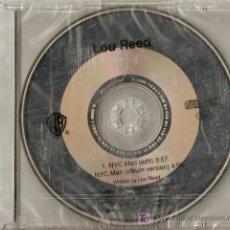 CDs de Música: LOU REED -NYC MAN CD.EN RARE PROMO FOR RADIO. Lote 7471597
