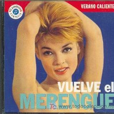 CDs de Música: VUELVE EL MERENGUE, EL ELEFANTE POR NESTOR CEBALLOS, EL TIGUERON POR EDDY MCLEAN Y OTRAS. Lote 12536822