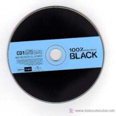 CDs de Música: CD - 100% BLACK - DÉCIMO VOLUMEN - CD1 Y CD2. Lote 7606437
