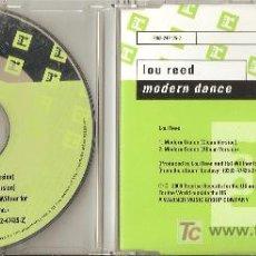 CDs de Música: LOU REED - MODERN DANCE ( SINGLE PROMO AMERICANO). Lote 7667624