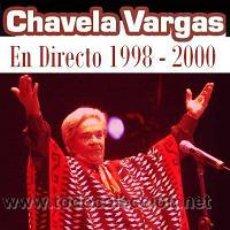 CDs de Música: CHAVELA VARGAS EN DIRECTO 1998 - 2000. Lote 145954706