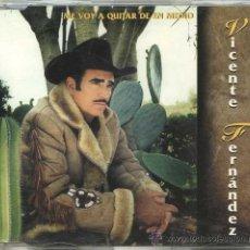 CDs de Música: VICENTE FERNÁNDEZ / ME VOY A QUITAR DE EN MEDIO (CD SINGLE). Lote 8025762