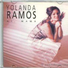 CDs de Música: YOLANDA RAMOS / AY, MAMA (CD SINGLE 2002). Lote 8025905