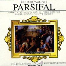CDs de Música: WAGNER: PARSIFAL CALLAS; BALDELLI 3CDS. Lote 8047642