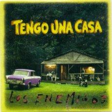 CDs de Música: LOS ENEMIGOS. BANDA SONORA ORIGINAL --TENGO UNA CASA-- (CD - 1996 ). Lote 35536225