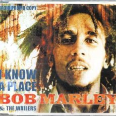 CDs de Música: BOB MARLEY & THE WAILERS / I KNOW A PLACE - ALL DAY ALL NIGHT (CD SINGLE 2001). Lote 8216624