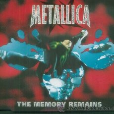CDs de Música: METALLICA - THEMEMORY REMAINS - CD SINGLE RARO CON 3 CANCIONES. Lote 9009611