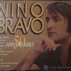 CDs de Música: DOBLE CD ORIGINAL , NINO BRAVO 50 ANIVERSARIO. Lote 25148293