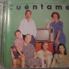 CDs de Música: DOBLE CD OIGINAL , CUENTAME DE LA SERIE DE TV. Lote 23311000
