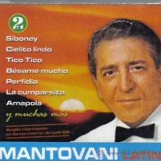 CDs de Música: DOBLE CD ORQUESTA MANTOVANI - LATINO - 28 TEMAS : PERFIDIA , LA PALOMA , MARIA ELENA, ETC. Lote 14542760