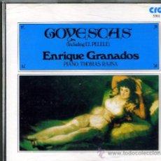CDs de Música: GRANADOS: GOYESCAS. THOMAS RAJNA. Lote 8692719