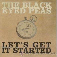 CDs de Música: THE BLACK EYED PEAS - LET'S GET STARTED CDSINGLE PROMO 2004. Lote 34307448