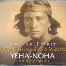 CDs de Música: SACRED SPIRIT / YEHA-NOHA (CD SINGLE 1995). Lote 8823503