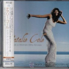 CDs de Música: NATALIE COLE ASK A WOMAN +BONUS 1 DIANA KRALL CD JAPAN. Lote 8890411