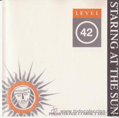 LEVEL 42 STARING AT THE SUN ADVANCE PROMO CD (Música - CD's Disco y Dance)