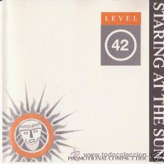 CDs de Música: LEVEL 42 STARING AT THE SUN ADVANCE PROMO CD. Lote 8892702