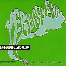 CDs de Música: YERBAGUENA - ESKORZO CDSINGLE PROMO 1998. Lote 8921273