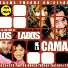 CDs de Música: B.S.O. ORIGINAL * LOS 2 LADOS DE LA CAMA * (CD+DVD/DIGIPAK). ROQUE BAÑOS. PRECINTADA.. Lote 24707554