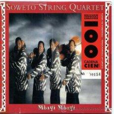 CDs de Música: SOWETO STRING QUARTET / MBAYI MBAYI - ZEBRA CROSSING (CD SINGLE 1996). Lote 9090051