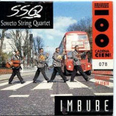 CDs de Música: SOWETO STRING QUARTET / IMBUBE - WEEPING (CD SINGLE 1997). Lote 9090062