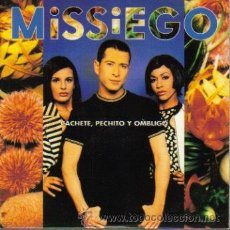 CDs de Música: MISSIEGO-CACHETE, PECHITO Y OMBLIGO CDSINGLE 1996 PROMOCIONAL. Lote 9210564