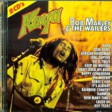 CDs de Música: 2 CD ESTUCHE DOBLE - BOB MARLEY - KAYA. Lote 15836970