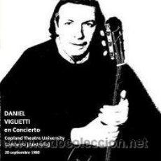 CDs de Música: DANIEL VIGLIETTI CONCIERTO POR NICARAGUA – CAMBERRA (AUSTRALIA) 1980. Lote 209684235