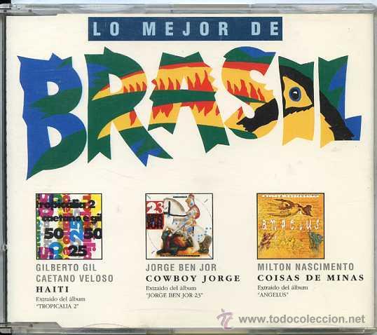 BRASIL, LO MEJOR DE / VARIOS ARTISTAS (CD SINGLE 1994) (Música - CD's Latina)