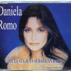 CDs de Música: DANIELA ROMO / ME GUSTA JUAN SEBASTIAN BACH (CD SINGLE 1997). Lote 177945368