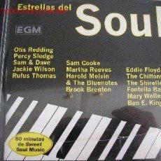 CDs de Música: ESTRELLAS DEL SOUL CON OTIS REDDING - PERCY SLEDGE - SAM COOKE - MARTHA REEVES - THE CHIFFONS - . Lote 27260275