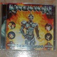 CDs de Música: MANGAMANIA - DOBLE CD DE MUSICA TECHNO HARDCORE. Lote 27226625
