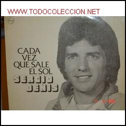SERGIO DENIS CD CADA VEZ QUE SALE EL SOL ARGENTINA 1977 SANDRO JAIRO ROBERTO CARLOS (Música - CD's Melódica )