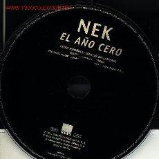 CDs de Música: NEK. Lote 3428407