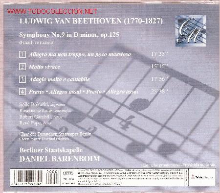 CDs de Música: Contraportada. - Foto 2 - 23428709