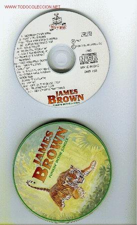 LOUIS ARMSTRONG Y JAMES BROWN EDICIÓN ESPECIAL CAJA METALICA. ORIGINALES, NO COPIAS (Música - CD's Jazz, Blues, Soul y Gospel)