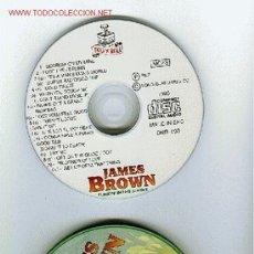 CDs de Música: LOUIS ARMSTRONG Y JAMES BROWN EDICIÓN ESPECIAL CAJA METALICA. ORIGINALES, NO COPIAS. Lote 27430279