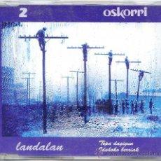 CDs de Música: OSKORRI / TOPA DAGIGUN - IDAHOKO BERRIAK (CD SINGLE 1995). Lote 9864485