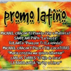 CDs de Música: PROMO LATINO / VARIOS ARTISTAS (6 TEMAS) (CD SINGLE 1998). Lote 9889639