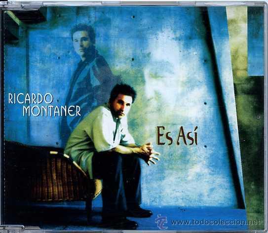 RICARDO MONTANER / ES ASÍ - VERSIÓN (CD SINGLE 1997) (Música - CD's Latina)