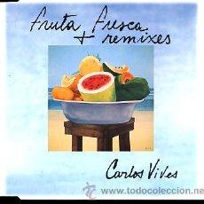 CDs de Música: CARLOS VIVES. FRUTA FRESCA REMIXES. Lote 26592445